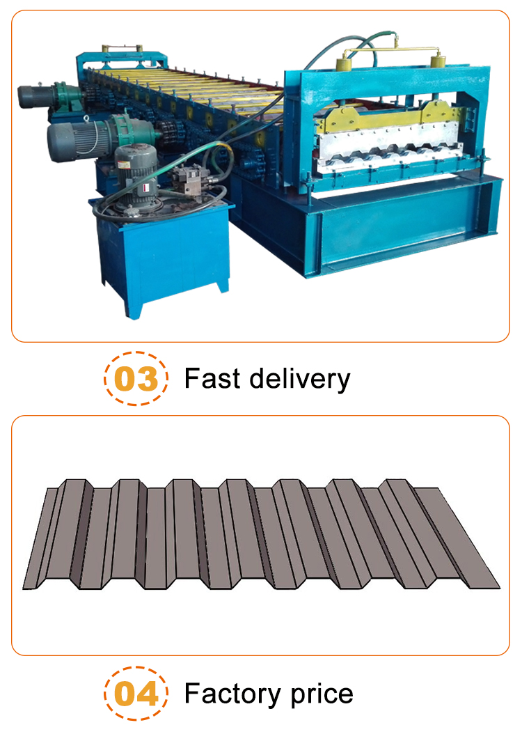 Hot Sale Metal Tile Car Carriage Plate Steel Roll Forming Machine