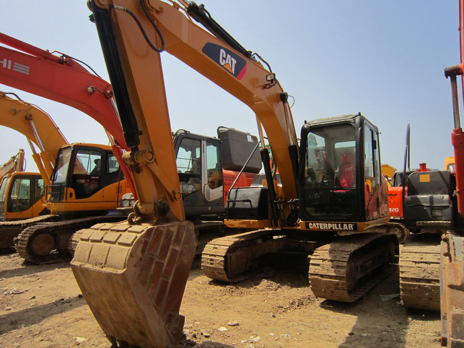 high quality and good condition Caterpillar 313d 315d 320d used cat 320D excavator 315d with good hours