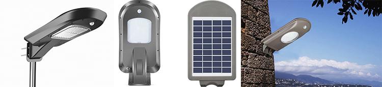Outdoor Integrated Solar Panel System Street Light