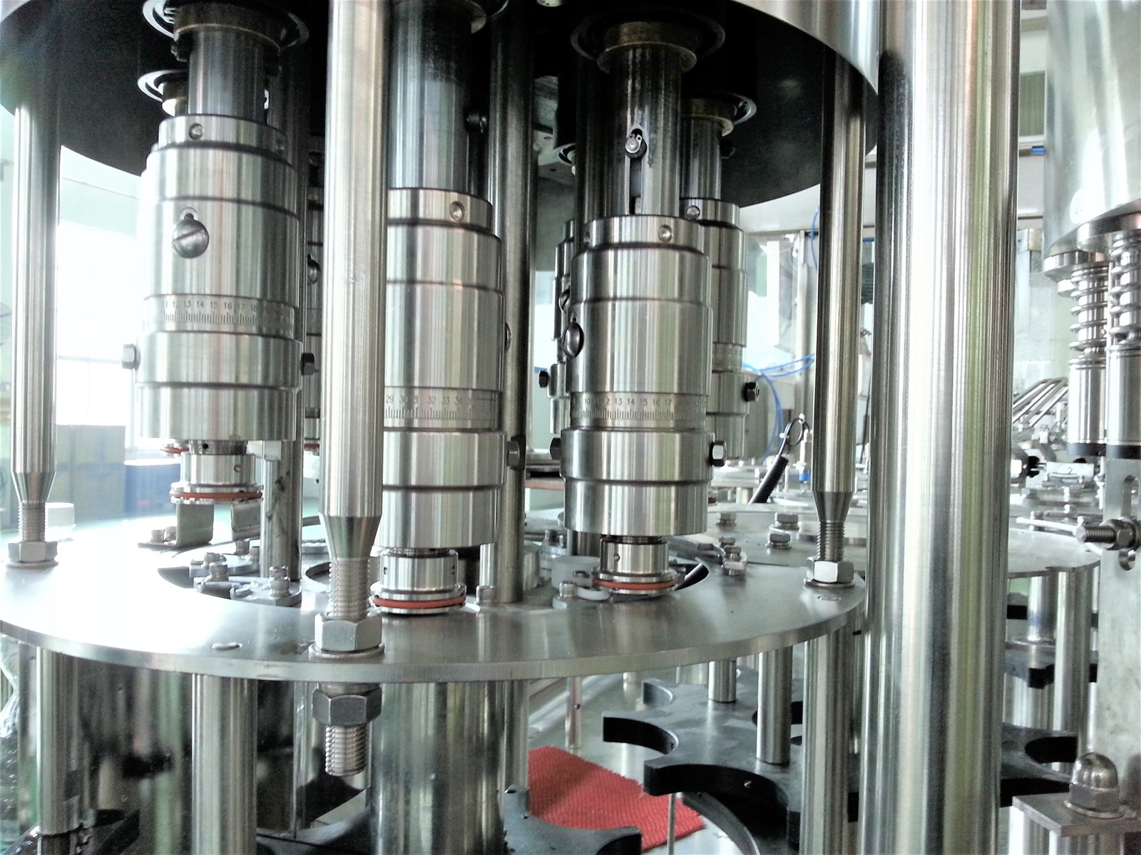 Automatic water production plant for water machines filling turkey