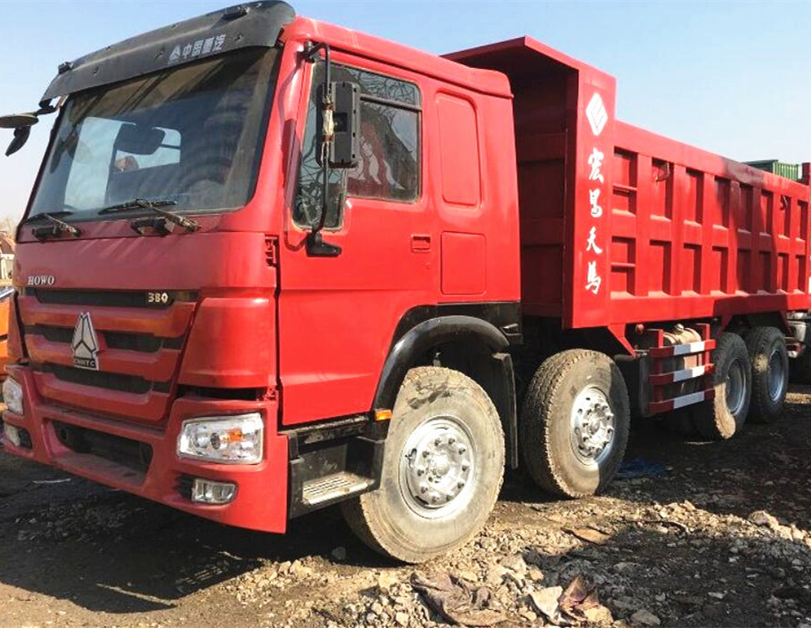 2017 sinotruk 380 howo used dump truck tipper truck from china