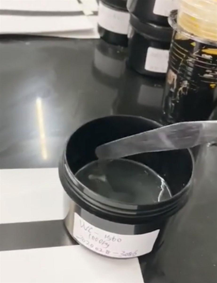 UV gloss varnish for screen printing