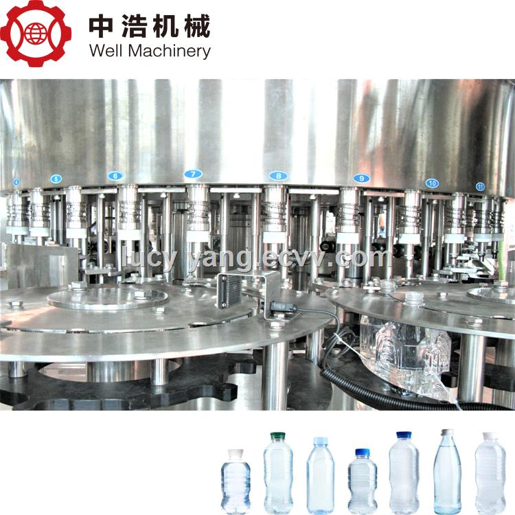 4000BPH Small Output Bottled Mineral Water Filling Machine