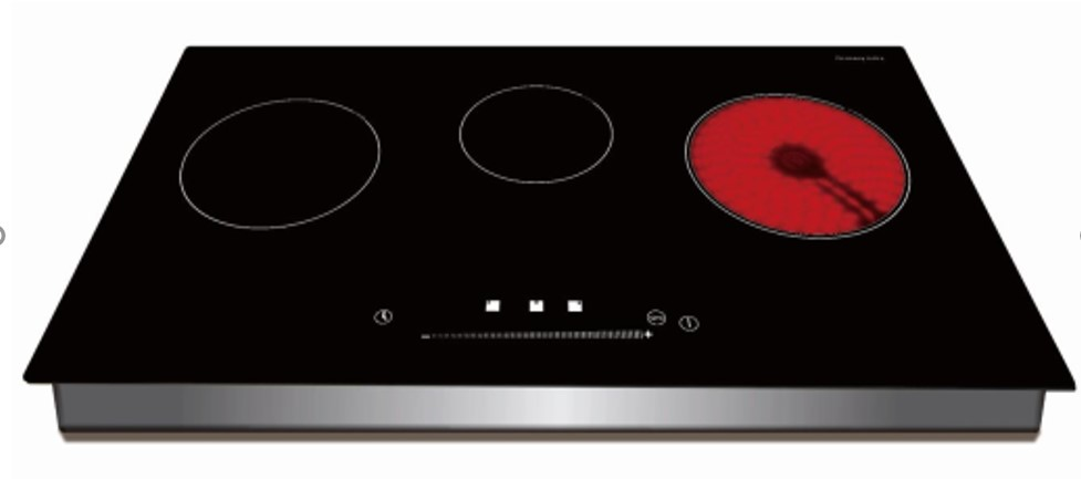 Built in 3 Burner Induction Cooker with Infrared Cooker