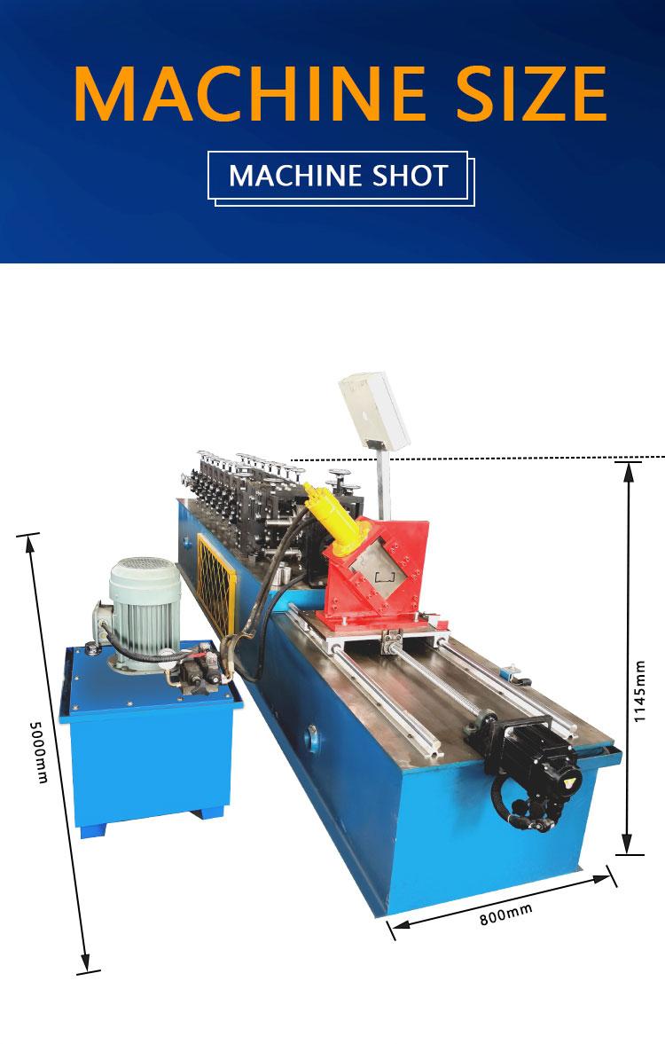 Hot Product Light Steel Keel c u Channel Metal Profile Roll Forming Machine