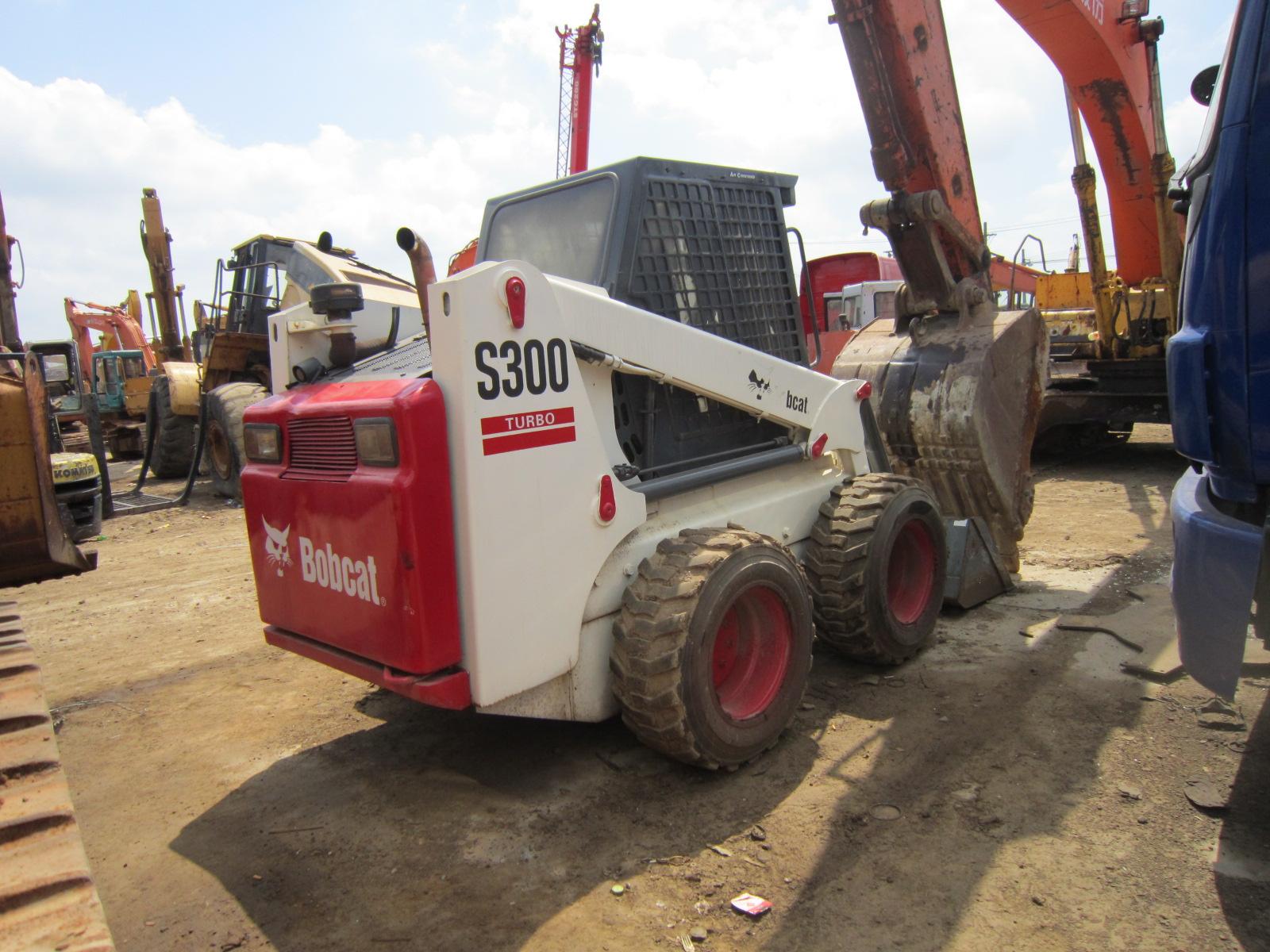 Good quality used Bobcat skid steer loader S300 for sale bobcat loader with low price