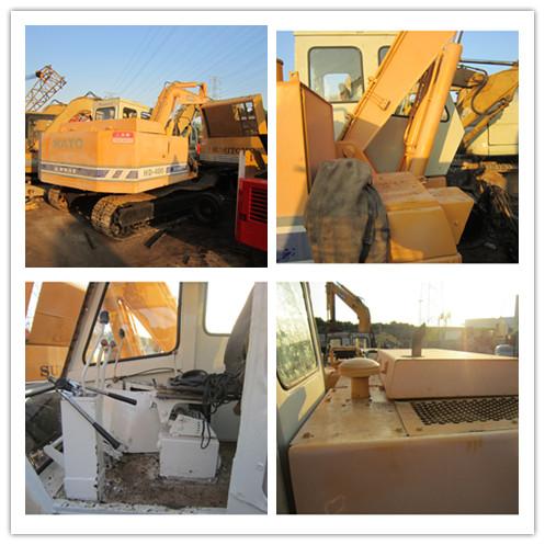 Good quality used kato excavator HD400 for sale