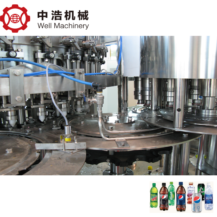 Automatic bottled drinking waterenergy drink filling machine