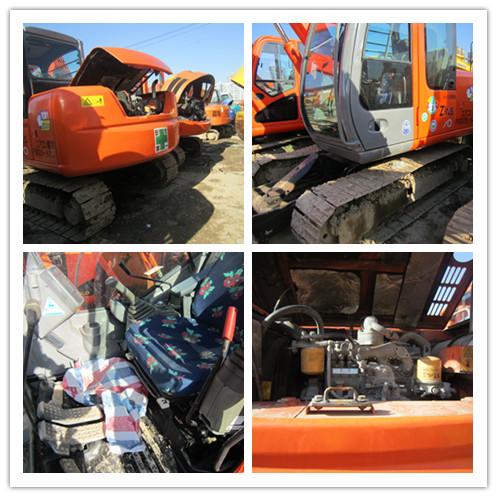 Used HITACHI ZX70 crawler excavator on sale