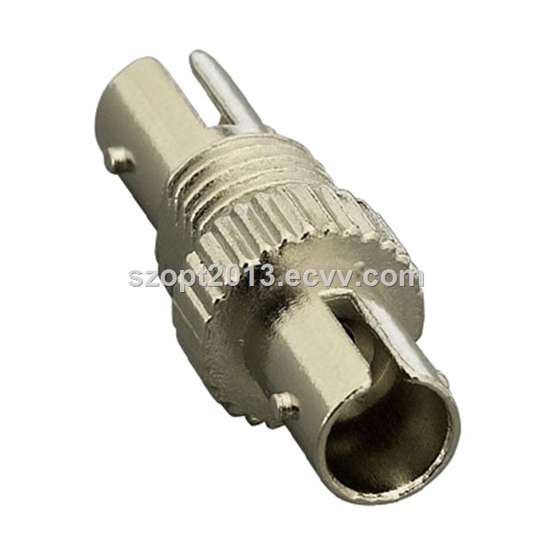 Fiber Optic Adapter ST Simplex Metal