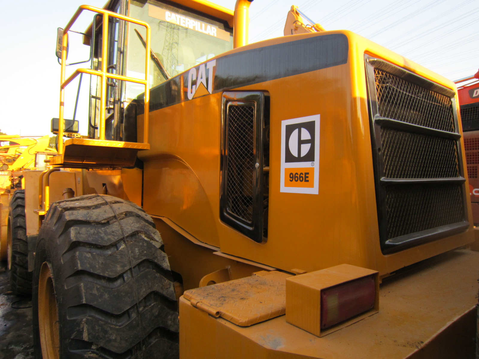 Excellent Condition used CAT 966E Wheel Loader Caterpillar 966H 966G 966E 966F Wheel LoadersUsed caterpillar 966C 966