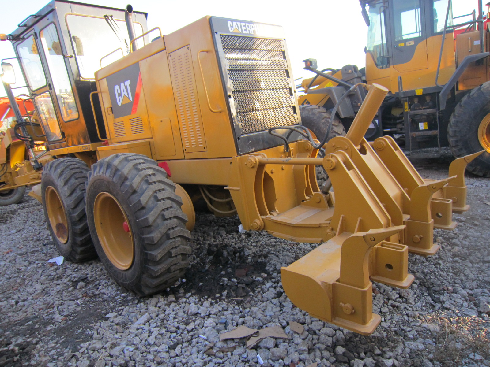 Used Cat 140K140H140G14G Motor Grader Original USA with Good ConditionSECONDHAND Caterpiller grader for hot sale