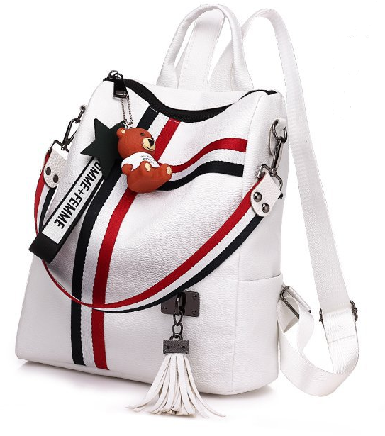 the New Ribbon pendant Explosion Dualpurpose backpack