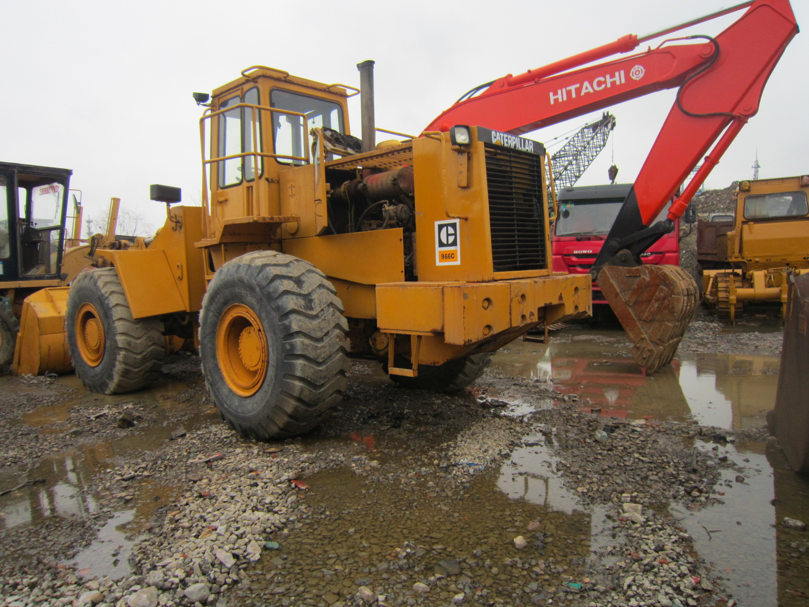 Cheap Used Cat 966C Wheel Loader with Good engine for Saleused caterpillar 966c 966c caterpillar used wheel loader for