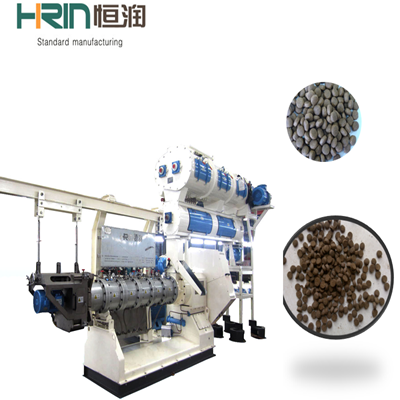 Double Screw Feed Extruder for Floating and Sinking Feed Production