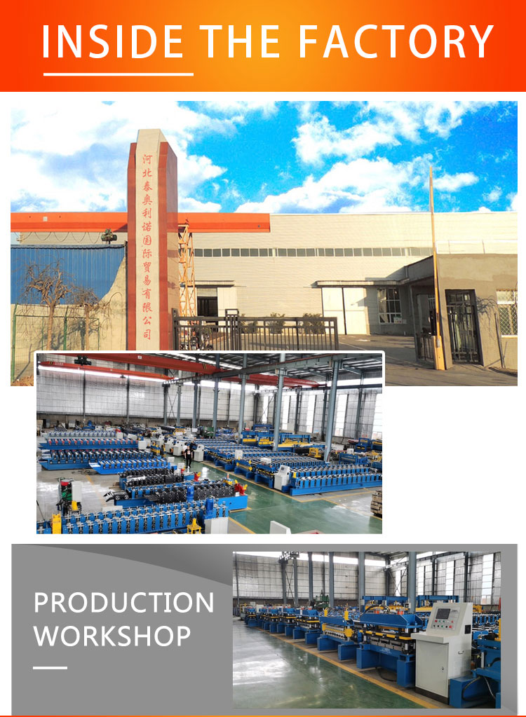 Automatic Decking Floor Corrugated Zinc Metal Roof Sheet Roll Forming Making Machine