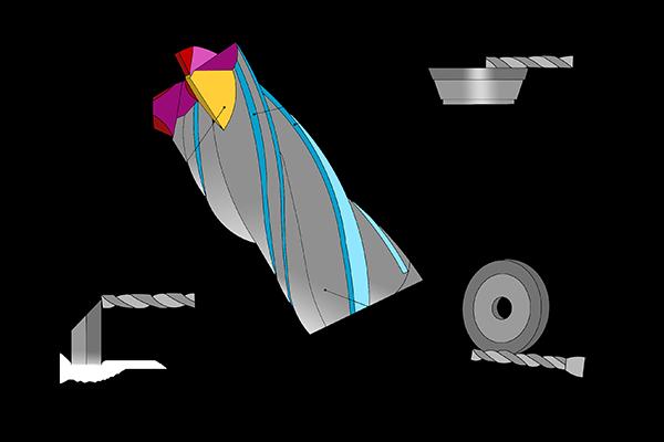 Diamond Wheels for CNC Tool Grinder