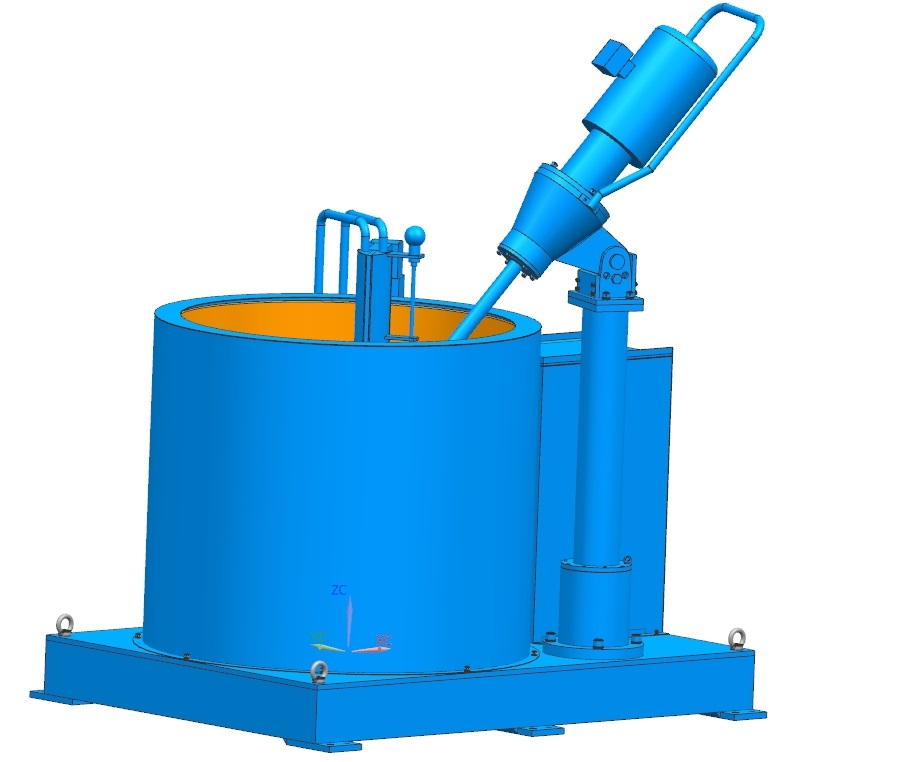 Slurry Tank for investment casting line