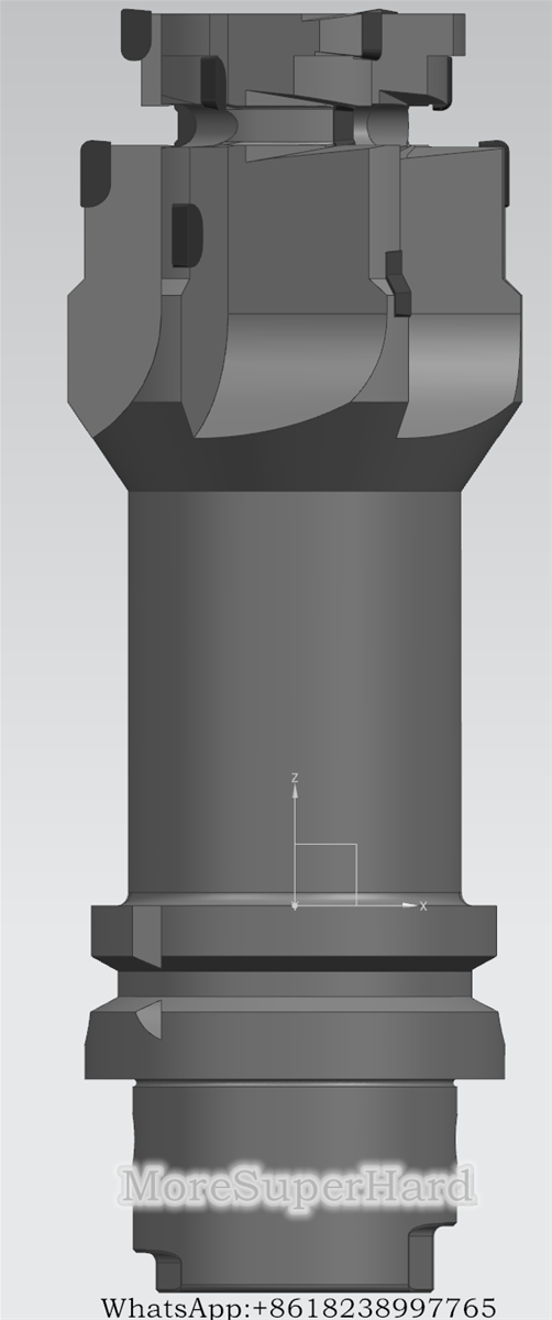 Forming Compound Milling Cutter