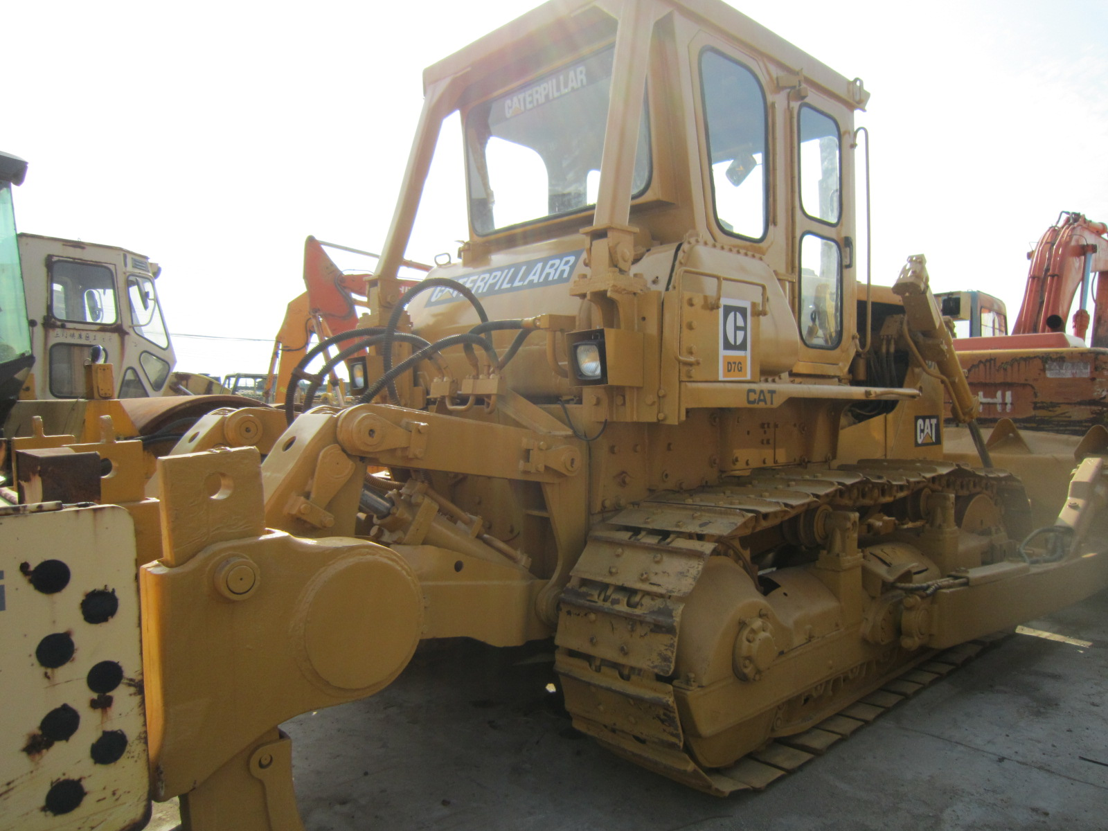Usedsecond hand CAT Cat D7G Crawler Bulldozer D6D D6R D8K Bulldozer for Sale