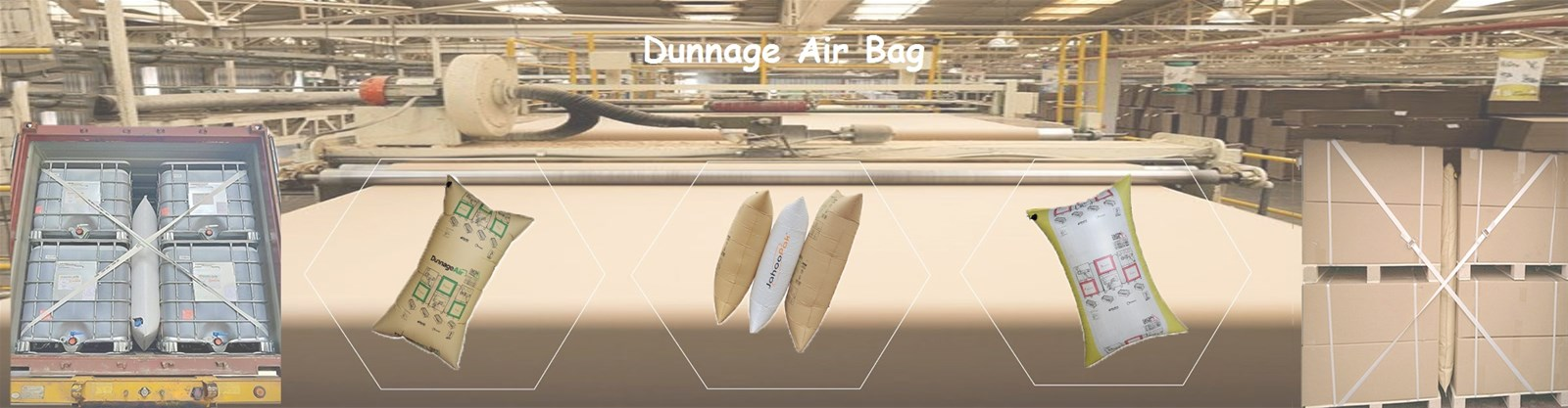 Cargo Damages Lamination Inflate Air Dunnage Bag for Truck