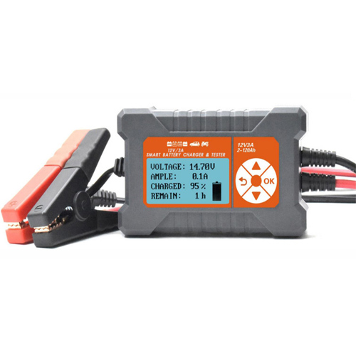 Smart Battery Charger and Tester