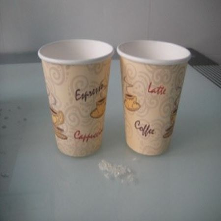 Double pe paper cup machine with ultrasonic sealing