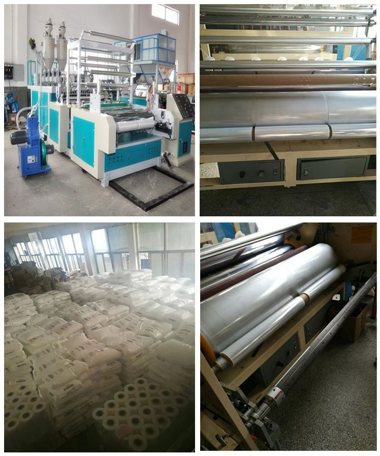 Transparent PVCPE Shrink Film Customized Pallet Stretch Film Plastic Wrapping Film
