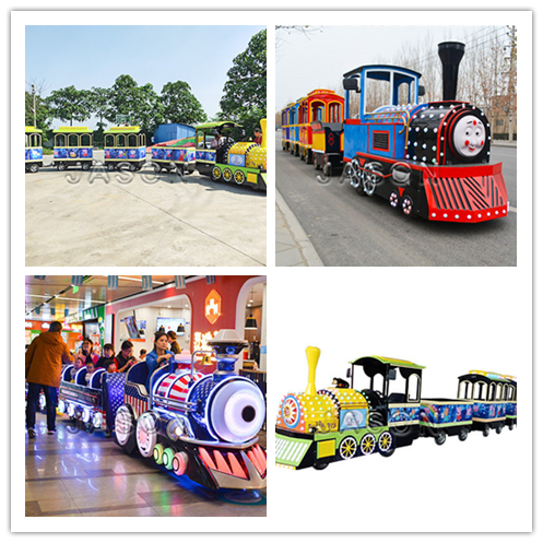 Small Electric Train Electric Tourist Train Modern Design for Sale