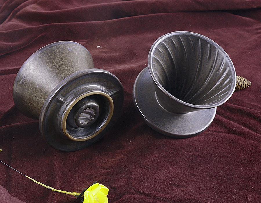 Globe Faith EcoFriendly Retro Cone Coffee Maker Drip Percolator