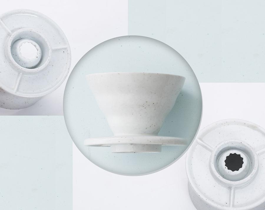 Globe Faith EcoFriendly Pour over Coffee Dripper Ceramic