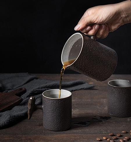 EcoFriendly Stoneware Small Coffee Creamer Pitcher