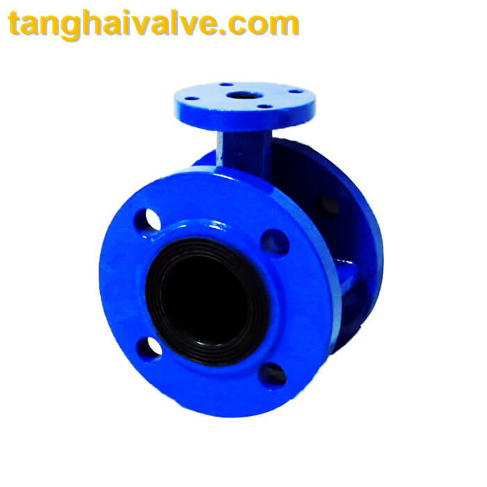 Double flange butterfly valve THBTVDF