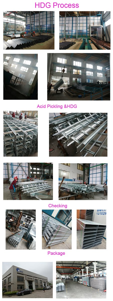Hot Dip Galvanized Steel Perforated Cable Tray