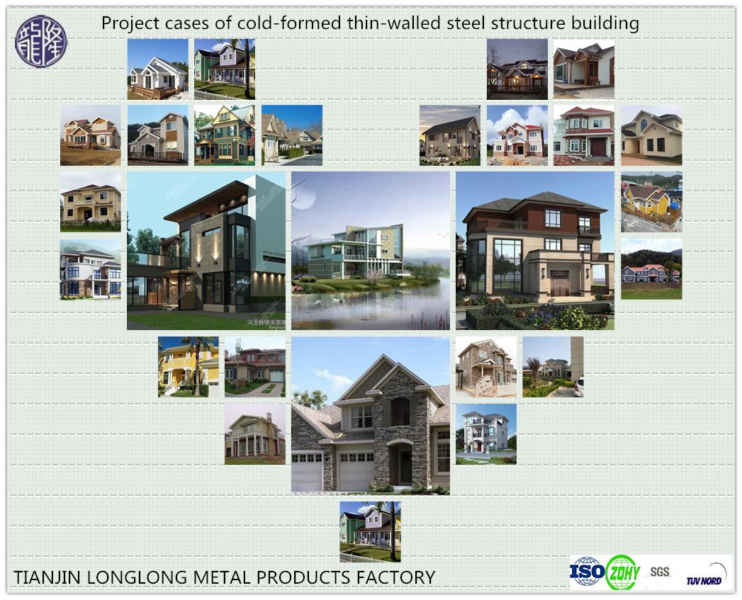 Light Steel Villa with Garden Room