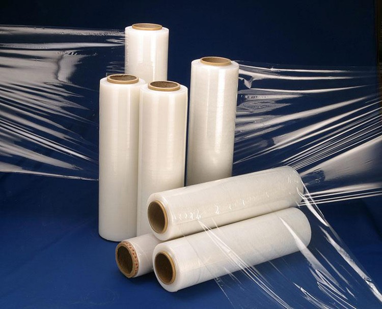 Industrial Clear Automatic LLDPE Stretch Plastic Film