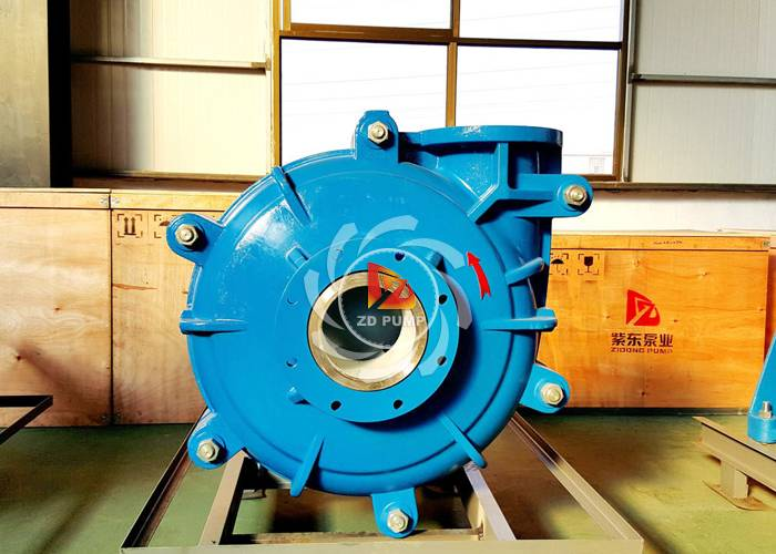 Mining machinery slurry pump sludge pump with high and low abrasives handling