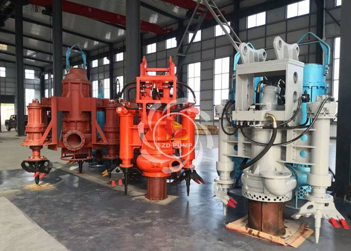 high chrome alloy material submersible sludge sand pump