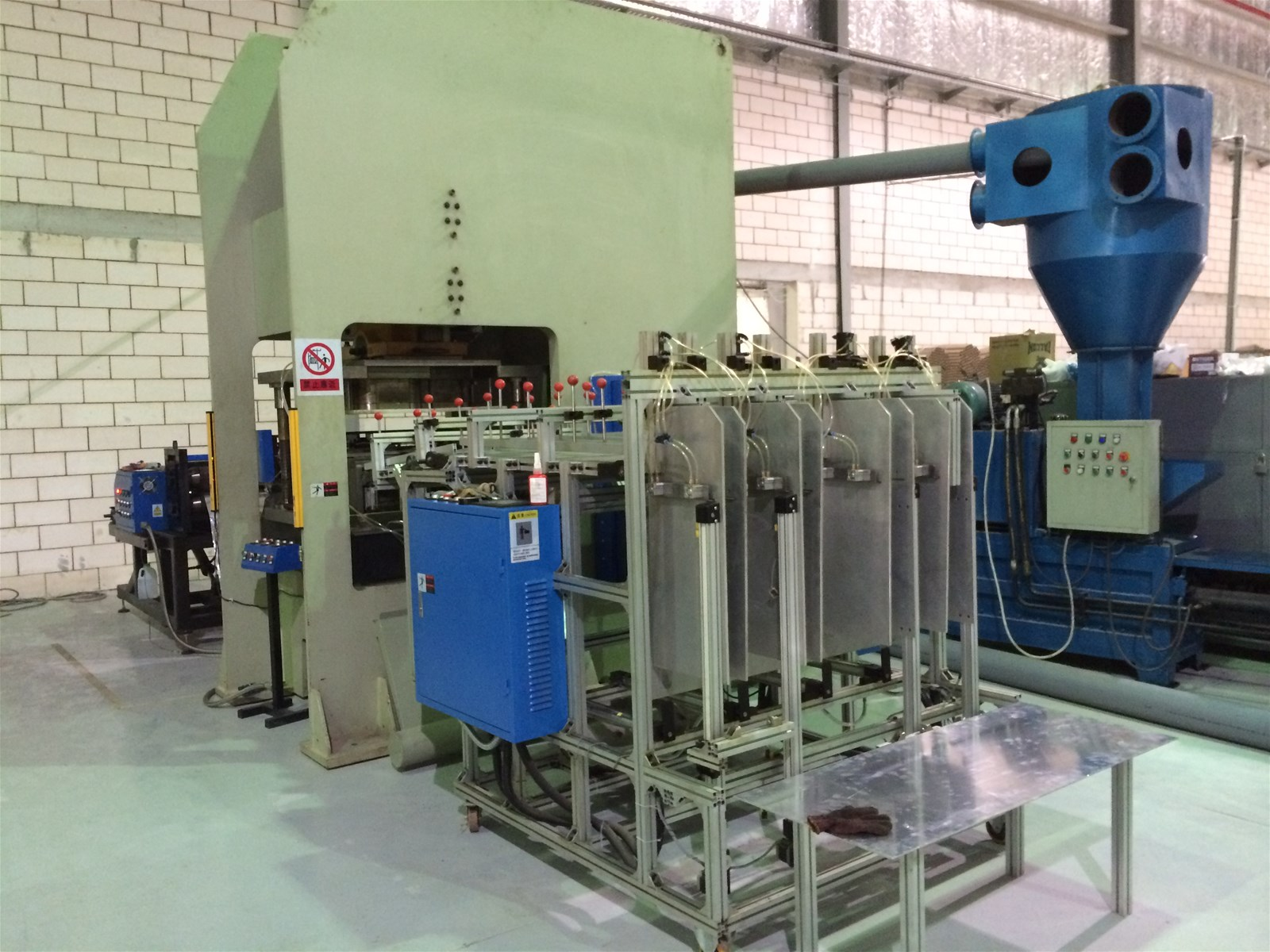 aluminium foil container and making machine mould