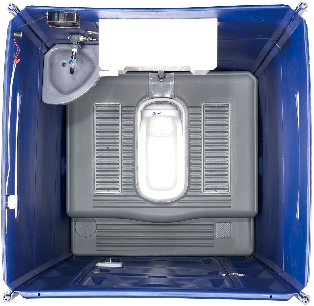 Cheap Automatic Door Close Prota Potty For Events Drain Off Portable Toilets with front baffle Ceramic Squat DOS859