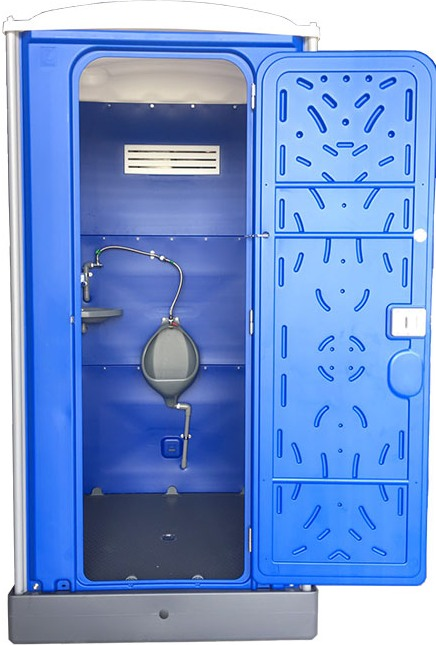 Chemical Resist Bagni Mobili With Assembly Urinal Portable HDPE Plastic Urinal Room DOS861