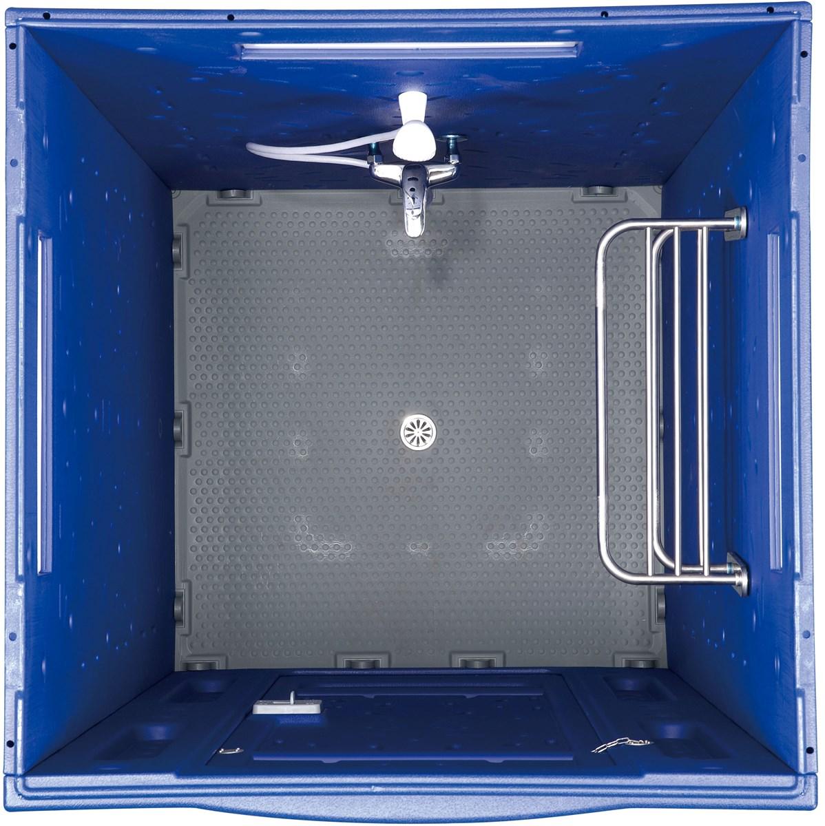 Convenient Double Walls Porta Washroom For Outdoor Portable Shower Room PS580