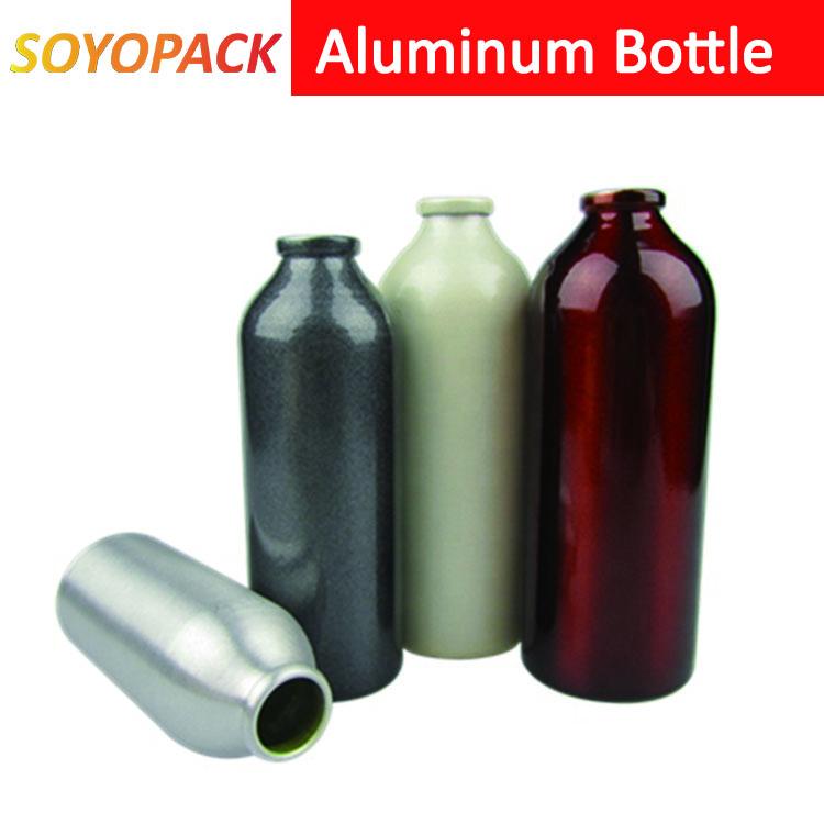 Aluminum bottleScrew Neck with screw top cap