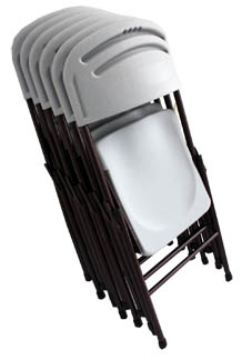 Conference Chair Fold able plastic chair serial EFC993