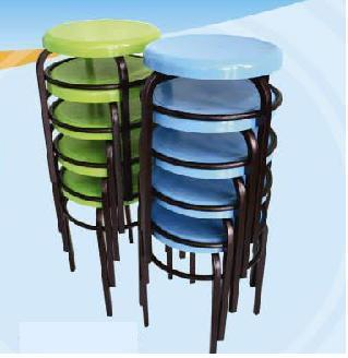 Plastic Round Chair for School Serial No PRC933
