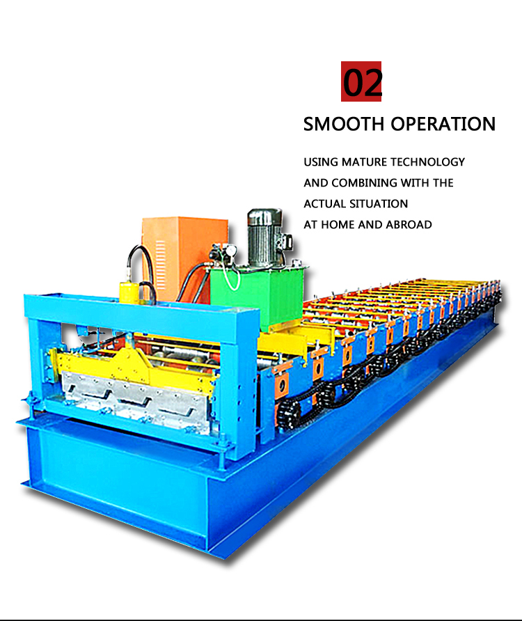 High Quality Steel Metal Roofing Glazed Corrugated Tile Roofing Sheet Cold Roll Forming Making Machine