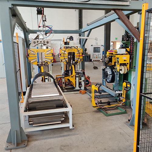 Doublestation Automatic tire bead wrapping machine