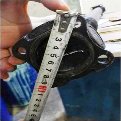 Custom transmission shaft for truck