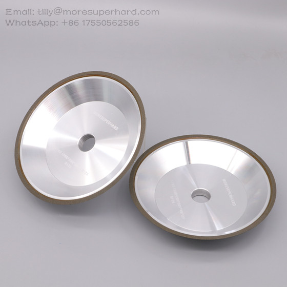 11V2 resin bond diamond grinding wheel for tungsten carbide