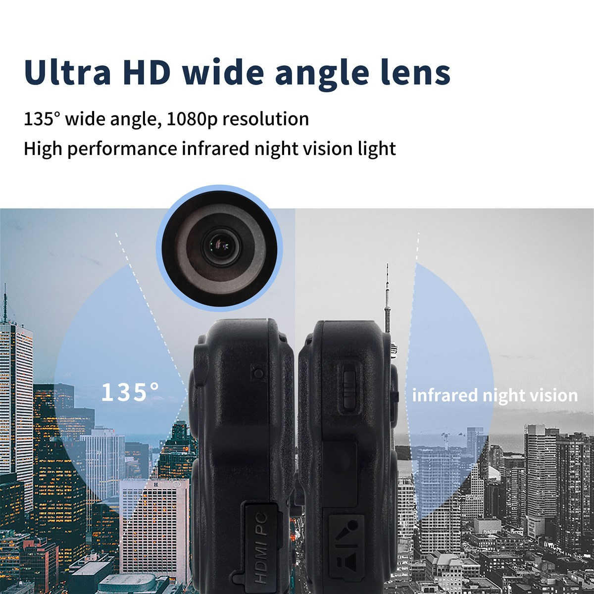 ONETHINGCAM DSGHD the Smallest 3G Portable Camera For Security Police Camera HD 1080P 30fps 170 Degree Wide Angle Lens